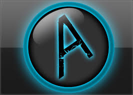 Logo Templates Photoshop Cs6 photoshop psd template shiny blue logo aquul