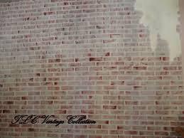 Painting A Wall To Look Like Brick Tlc Vintage Collection Loft Style Without The Condo Cost