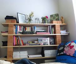 diy bookshelf planks u0026 bricks i u0027ve loved this idea ever since