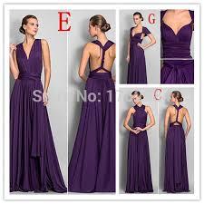 bridesmaid dresses 100 convertible purple bridesmaid dresses 100 2017 spandex