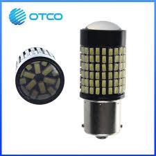 china external lights 12v s25 ba15s 1156 led 144smd 4014smd turn