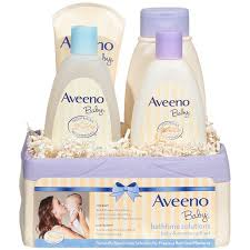 baby gift sets aveeno baby daily bath time solutions gift set to prevent skin