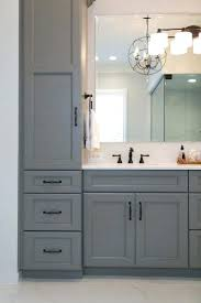 Grey Bathroom Cabinets Grey Bathroom Cabinets Engem Me With Regard To Colored Vanities