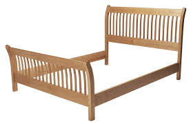 southern joinery mission sleigh bed southern joinery