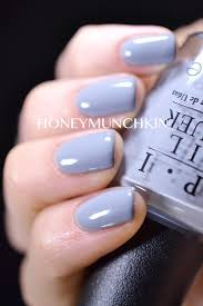 opi light blue nail polish swatches of opi 50 shades of grey collection honeymunchkin