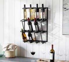 wine glass racks and kitchen storage pottery barn