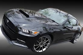 Pictures Of Black Mustangs Staggered 20