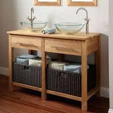 Apron Sink Bathroom Vanity by Glass Vessel Sinks For Adding Bathroom U0027s Beauty Modern Glass