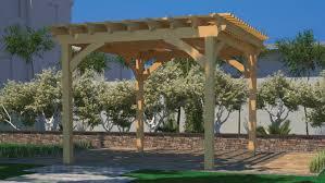 Photos Of Pergolas by Wood Stacked Pergola Fence U0026 Deck Supply