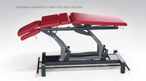 Physical Therapy Treatment Tables by Chattanooga Montane Treatment Tables Youtube