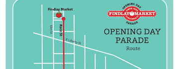 Map Of Findlay Ohio by Findlay Market Parade