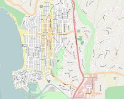 California Zip Code Map by Map Of Carmel California California Map