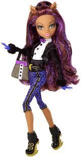 monster high doll halloween clawdeen monster high doll buscar con google monster dolls