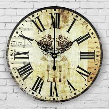 home decor clocks kitchen decorative wall clocks absolutely silent fashion wall