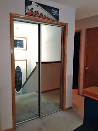 Mirror Closet Doors Mirror Sliding Closet Doors Cascade Glass