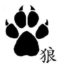 kanji symbol n wolf print design photo 3 2017 photo