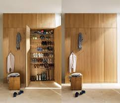 Floor To Ceiling Cabinet by Floor To Ceiling Hallway Cabinets Slanting Shoe Storage