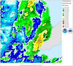 Michigan Weather Map August 11 2014 Historic Rainfall