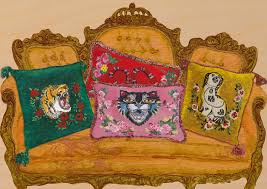 gucci is launching a decor line u2014and it u0027s as fantastic as you u0027d