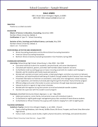 Sample Resume Objectives For Special Education Teachers by Counselor Resume Job Proposal Sample
