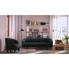 tufted memory foam accent chair walmart com