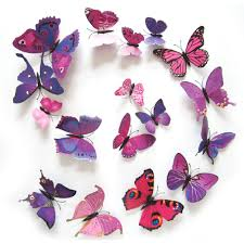online buy wholesale 3d butterfly art from china 3d butterfly art