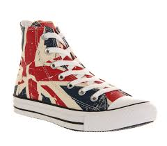 Converse American Flag Shoes Converse Converse All Star Hi Union Jack Exclusive Unisex Sports