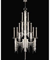 Ceiling Art Lights by Fine Art Lamps 749640 Cascades 45 Inch Wide 16 Light Chandelier