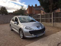peugeot car history peugeot 207 1 6 hdi sport 1 previous owner full service history