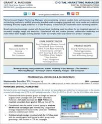 Digital Marketing Sample Resume by Sample Digital Marketing Resume 8 Examples In Word Pdf