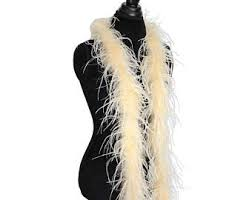 Ostrich Halloween Costume Feather Scarf Etsy