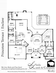 princeton terrace luxury single family floor plan heritage