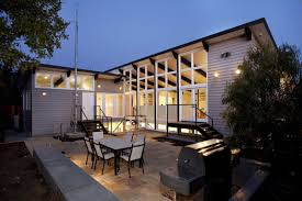 modern home sustainable home brightly decorated the net zero energy modern
