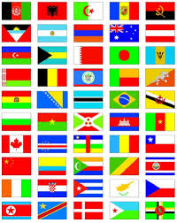 Picture Of Un Flag United Nations Members Flag Sticker Set