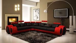 Leather Sofa Fabric And Black Fabric Sofas Ni Leather Sofa Setred Pillowsredatred