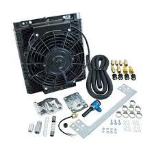 oil cooler fan kit bolt on oil cooler fan kit each aa performance products