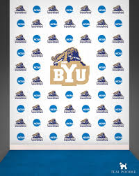 step and repeat backdrop school sports team logo backdrop step and repeat banner