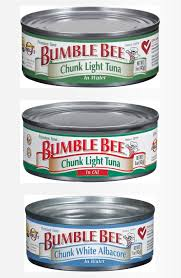 bumble bee chunk light tuna bumble bee recalls cans of tuna because they might not have been
