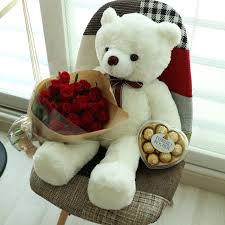 birthday bears delivered big bouquet ferroro rocher flower delivery south