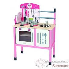 cuisine en bois jouet janod maxi cuisine janod j06533 dans jouets en bois janod sur le bois