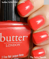 butter london the daily varnish