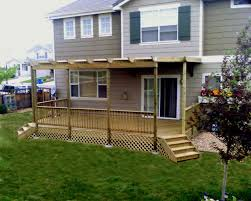exterior comely light cherry wood decks along with light cherry