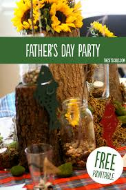 fathers day party ideas father u0027s day printable book