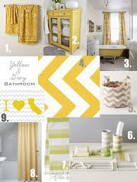 Grey And Yellow Bathroom Accessories by Grey And Yellow Bathroom Inspiration Since The Previous Owner