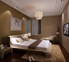 sparkling master bedroom lighting idea using decorative light