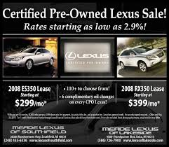 lexus warranty certified pre owned certified pre owned lexus sale detroit michigan