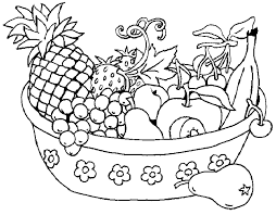 fruit coloring pages printable coloringstar