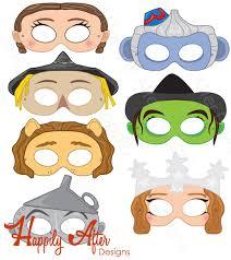 wizard oz printable coloring masks wizard coloring