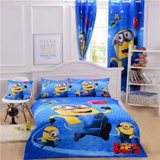 3d Bedroom Sets by Children 3d Bedding Sets Cartoon Minions Despicable Me Disign Pure