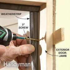 How To Make A Exterior Door Tips For Hanging Doors Family Handyman